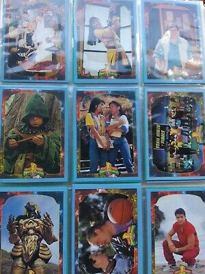 Saban's Mighty Morphin Power Rangers Collectors Cards Set Series 2 With 3...