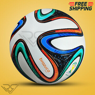 BRAZUCA WORLD CUP 2014 BRAZIL SOCCER BALL [SIZE 5] BY - Rampage Sports