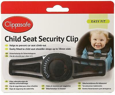 Clippasafe CAR SEAT SECURITY CLIP Baby Toddler Safety Car Seat Accessory - NEW