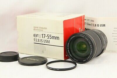 【NEAR MINT in BOX】 CANON EF-S 17-55mm f/2.8 IS USM for APS-C Sensor from JAPAN