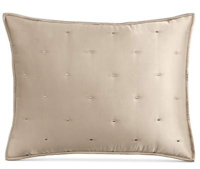 Silky Satin Tufted Standard Pillow