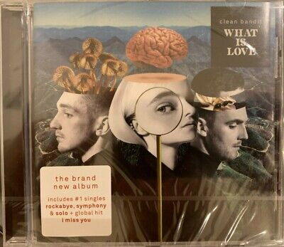 Clean Bandit ‎- What Is Love - Cd (New & Sealed, Case Has Some Minor Cracks)