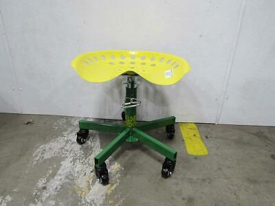 Summer Welder's Stool Tractor Seat Yellow/Green