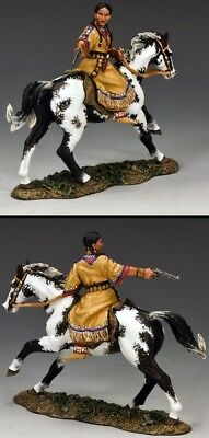 King & Country The Real West Trw034 Buffalo Calf Road Woman Mib
