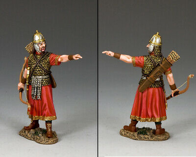 King & Country Roman Empire Rom026 Roman Legionary Archer Officer Mb
