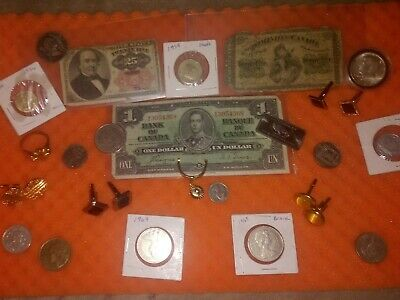 Junk drawer lot coins