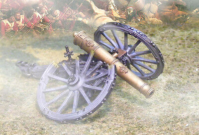 The Collectors Showcase Napoleonic British Cs00504 Rha Cannon Destroyed  Mib