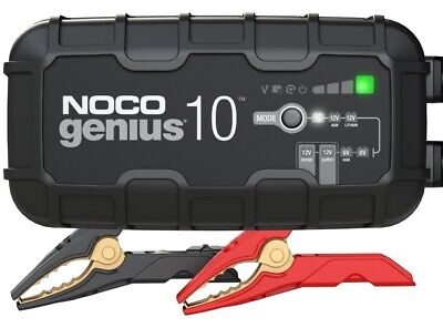 NOCO 10-Amp Fully-Automatic Smart Charger 6V/12V Battery GENIUS10
