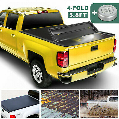 2009 2019 Ram 1500 Black Folding Tonneau Bed Cover 5 7 Ft Bed Mopar Oem 1 179 95 Picclick