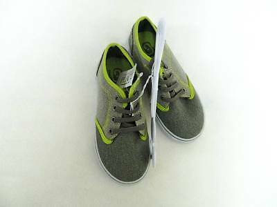 NEW Girls or Boys Childrens Place Shoes Sneakers Size 13  Green Shades Canvas