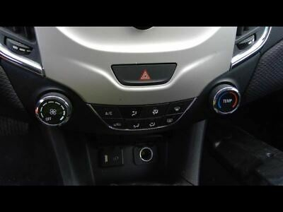 Temperature Control Without Heated Seat Fits 16-18 CRUZE 958718