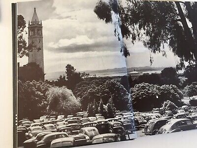 1946 University of California Berkeley CA Campus Yearbook Blue and Gold, Photos