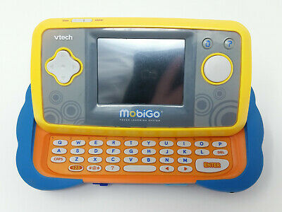 VTech MobiGo Touch Learning System Handheld Game Console Blue