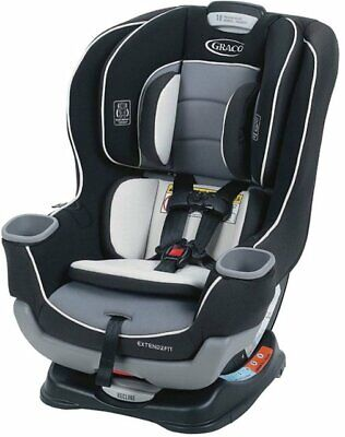 Graco Extend2fit Convertible Baby Car Seat - Gotham