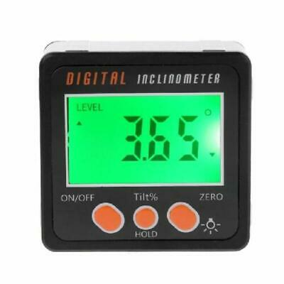 Digital Inclinometer Electronic Protractor Bevel Box Angle Gauge Alloy Shell