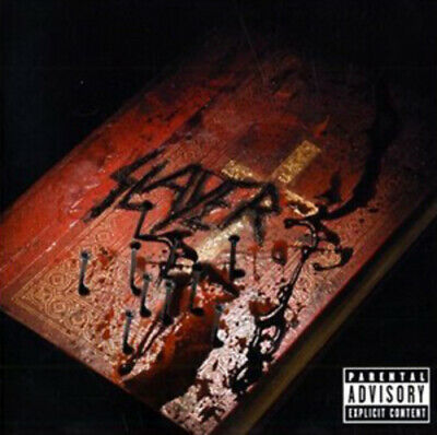Slayer : God Hates Us All CD (2009) Value Guaranteed from eBay's biggest seller!