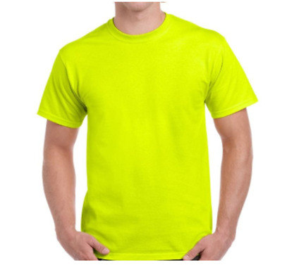 tee shirt homme  jaune fluo synthétique sport respirant Taille L