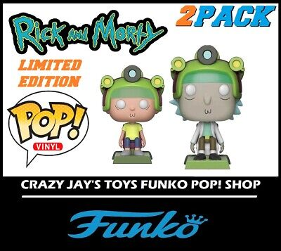 *VERY EXCLUSIVE LIMITED EDITION Funko POP Rick And Morty RICK #416 Vinyl Figure