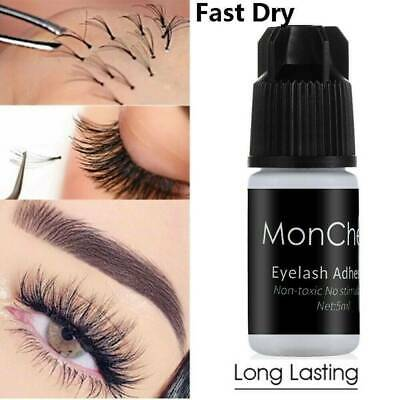 UK Eyelash Extension Glue Strong Adhesive For Semi Permanent Lashes Fast Drying