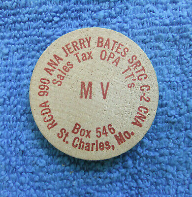 Jerry/'s Restaurants Wooden Nickel Good for one cup of coffee FREE SHIPPING