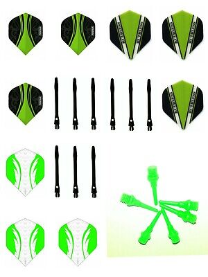 Softdart Zubehör Set Soft Dart Kit Dart Schäfte Dart Flights Spitzen Set Medium
