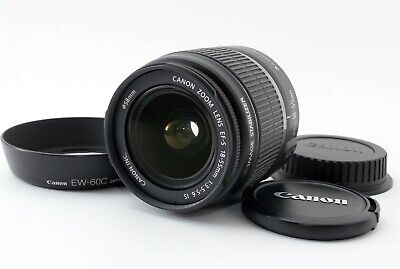 Canon EF-S 18-55mm f/3.5-5.6 IS Lens from japan Near Mint