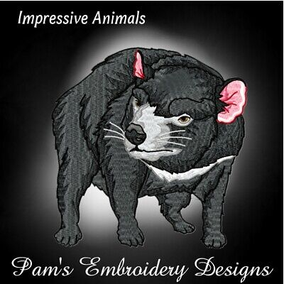 WILD ANIMALS DESIGNS MACHINE EMBROIDERY DESIGNS ON CD OR USB BROTHER #30