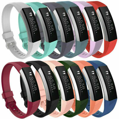 Replacement Wrist Band Straps Bracelet Set For Fitbit Alta HR Watch Small/Large