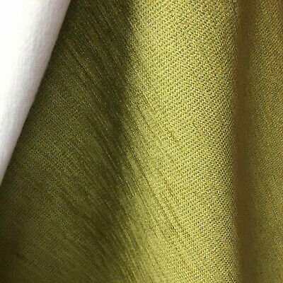 Lime D1029 green suede effect upholstery fabric 140 cm