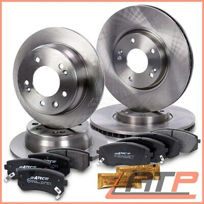 7760 FRONT AND REAR BRAKE DISCS AND PADS FOR KIA SPORTAGE 1.7 CRDI 10//2010