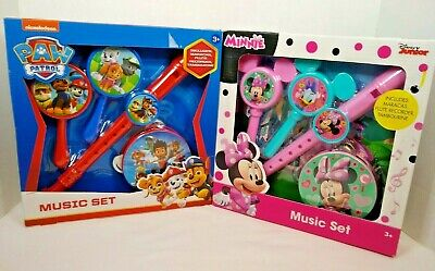 Paw Patrol Musical Instruments Fun Set PWP-395 3 Years+ Brand New