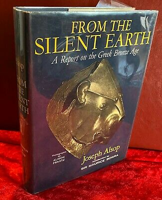 1964 From the Silent Earth Greek Bronze Age Ancient Greece HC Book