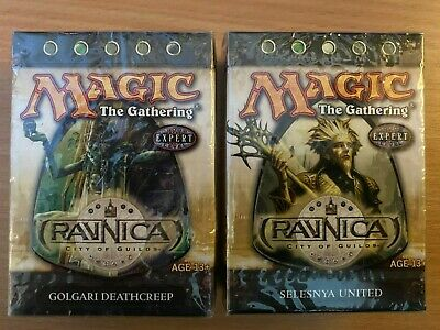 Magic the Gathering MTG * Ravnica x2 Theme Decks * Golgari Deathcreep & Selesnya
