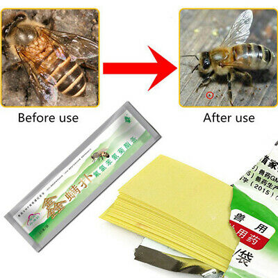 6x10 Strips Amitraz Plus treatment of Varroatosis Bees Varroa Mite