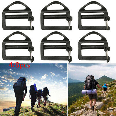 Quick Side Release Metal Strap Buckles For Webbing Bags Luggage Accessori TDssPT