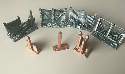 Warhammer Post Apocalytic Style Shipping Containers D+D Scenery Hides 3d Printed