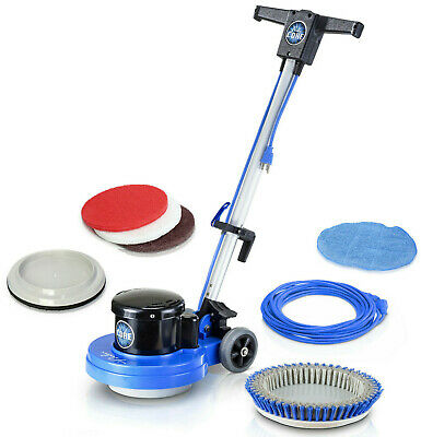 Prolux Core Heavy Commercial Polisher Floor Buffer Machine w/ all Pads