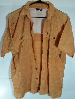 CLEARANCE Shirts Mens S to 4XL ButtonDownCollar NEW Hunter Outdoor PolyCotton