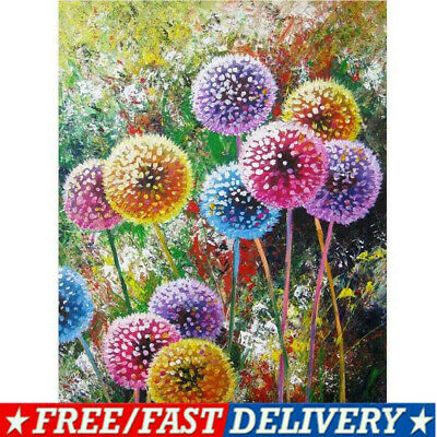 Drill DIY 5D Crafts Diamond Dog Flower Home Decor Embroidery Cross Stitch