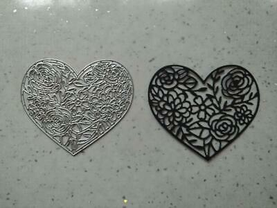 Sizzix Die Cutter Thinlits  Decorative Heart 9.5cm x 9cm  fits Big Shot