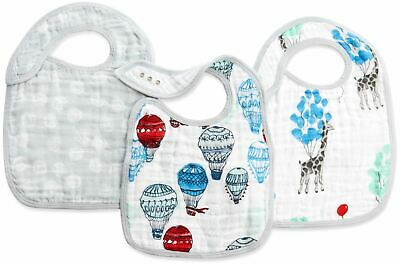 Aden + Anais CLASSIC SNAP BIBS - DREAM RIDE Baby