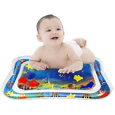 Baby Water Playmat Inflatable Tummy Time Mat Floor Activity Play Center