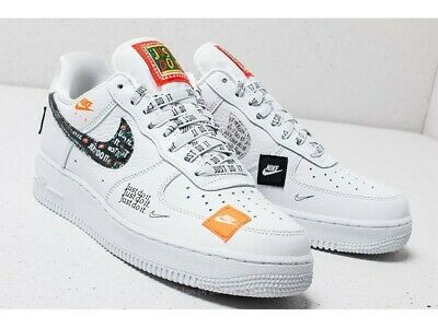 just do it scarpe air force 1 bianche
