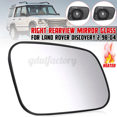 LANDROVER WING DOOR MIRROR GLASS HEATED RIGHT CLIP ON