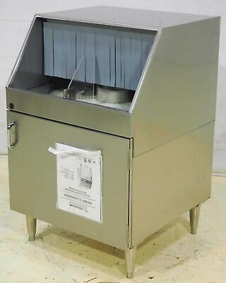 Krowne Metal GWR-24 Low Temp Underbar Rotary Glass Washer - SN: G190724604