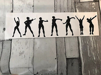 7 X Fort dancing Men Xbox stickers decal vinyl wall Bottle gaming nite 2.5inch