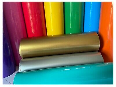 Self Adhesive 300mm Gloss Vinyl Sticky Back Plastic - Sign Vinyl Craft Stickers