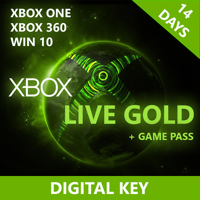 Xbox Live Gold Ultimate 14 days (Game pass 30 days) INSATNT DELIVERY