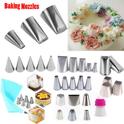 #9FT Large Icing Piping Nozzle Russian Pastry Tips Baking Mold Cake Decor