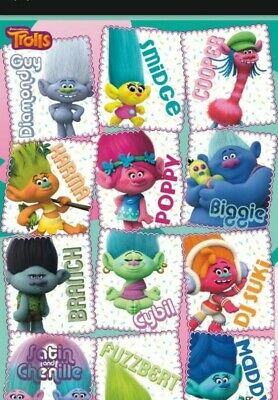 TROLLS MOVIE - CHARACTER GRID POSTER - 22x34 - 14216